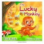 Childrens-books-The-Lucky-Monkey-Illustrated-Picture-Book-for-ages-3-8-Teaches-your-kid-the-value-of-thinking-before-acting-Beginner--skills-for-kids-collection-Volume-14-0