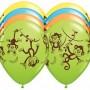 TEN-10-11-latex-MONKEY-GO-BANANAS-Happy-Birthday-PARTY-Balloons-Decorations-Supplies-0