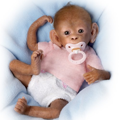 Coco-So-Truly-Real-Baby-Monkey-Doll-16-by-Ashton-Drake-0