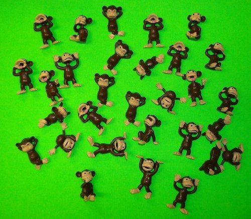 Monkey-Figures-25-Tiny-Plastic-Monkey-Figures-Party-Favors-0