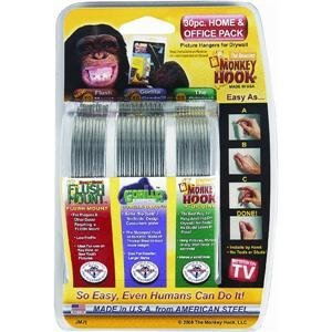 Monkey-Hook-M-V0030-6-SS30-Picture-Hanger-Home-And-Office-Pack-30-pc-set-0