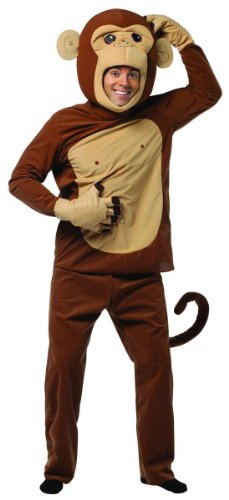 Rasta-Imposta-Monkeying-Around-Costume-Brown-One-Size-0