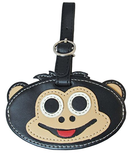 The-Container-Store-Critter-Luggage-Tag-Monkey-0