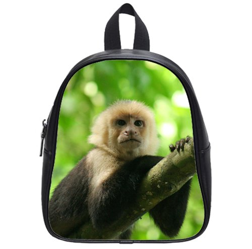 hot-selling-Cute-monkey-in-the-jungle-Custom-Kids-School-Backpack-BagSmall-leisure-0