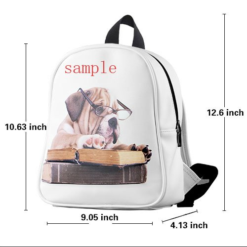 nice-The-world-too-noisy-monkeys-Custom-Kids-School-Backpack-BagSmall-decorative-0-0